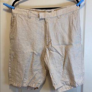 Joseph Abboud 100% Linen Shorts - Men's 34